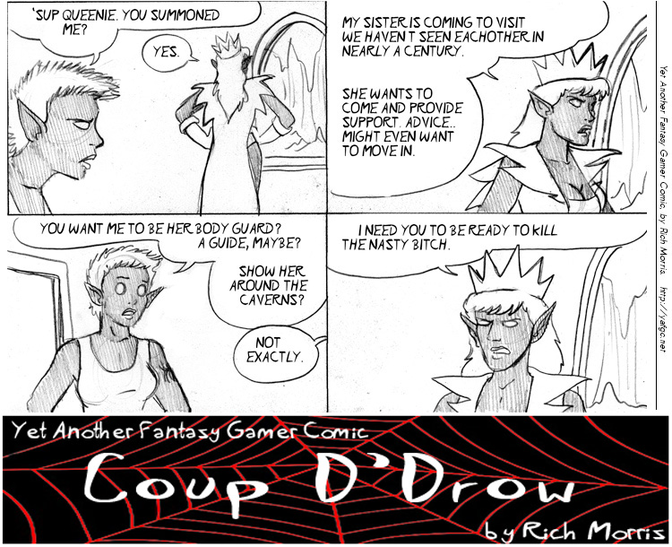 YAFGC #2002: Your daily fantasy webcomic