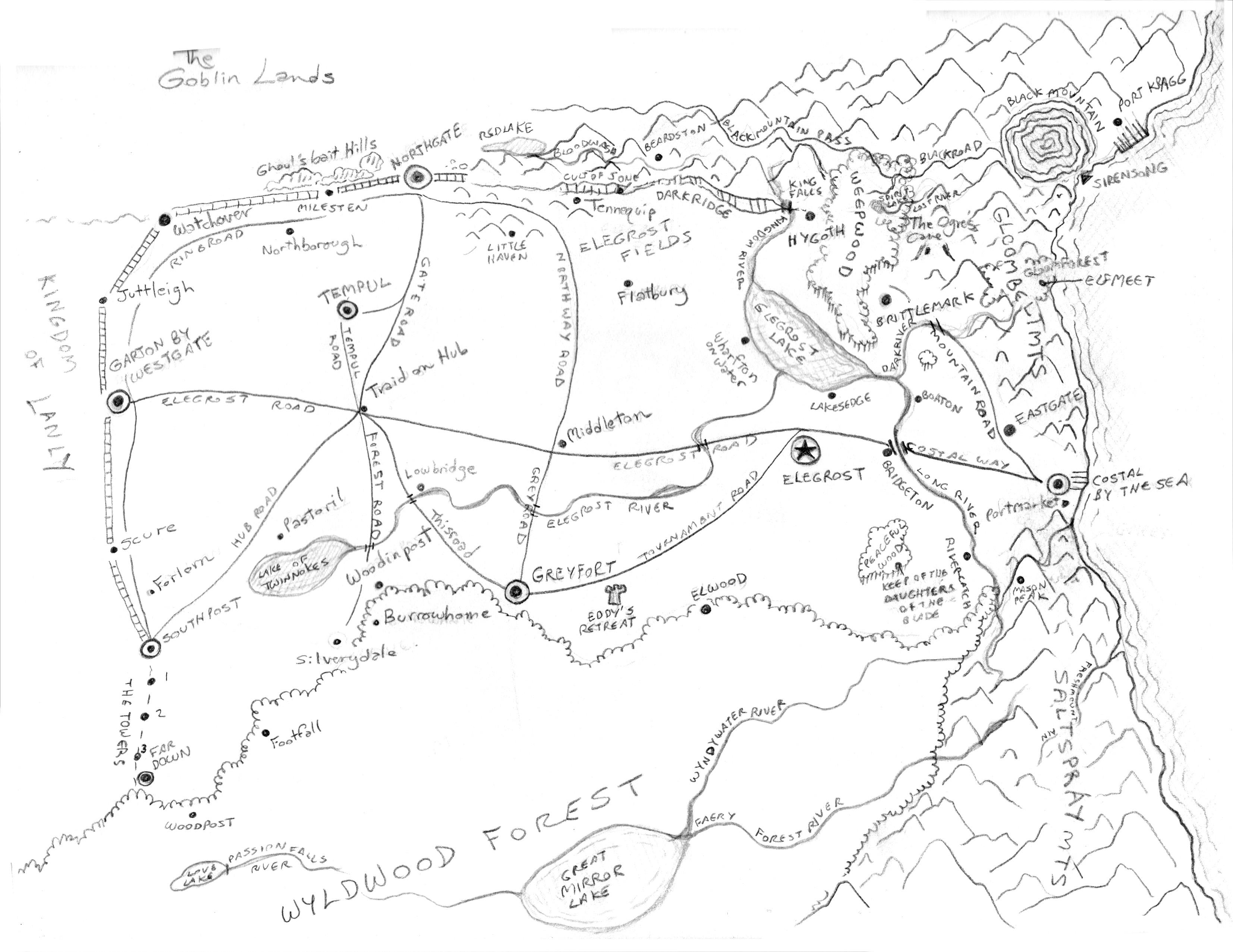 Map of Elegrost