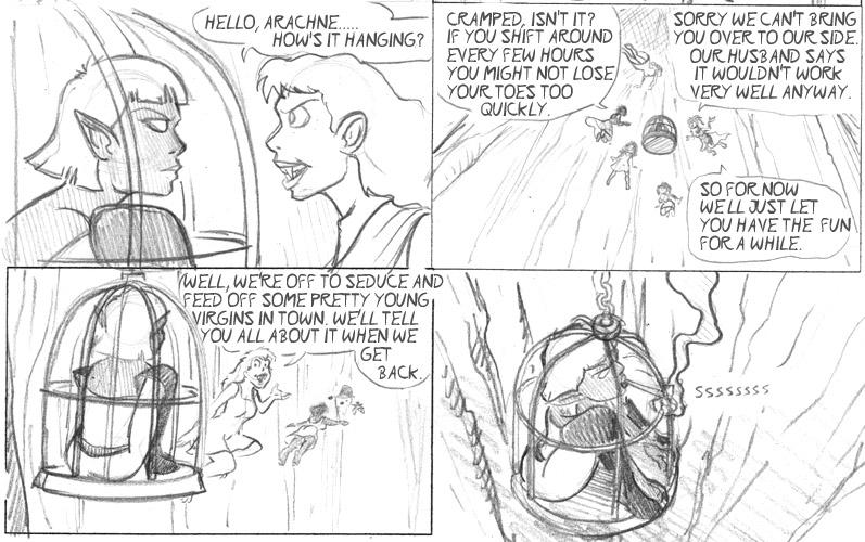 0673 Arachne Hangs Out