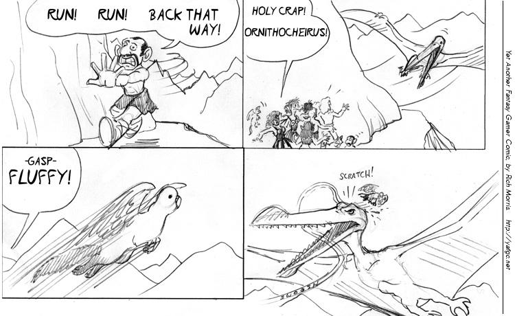 1899 Fluffy Vs The Ornithocheirus