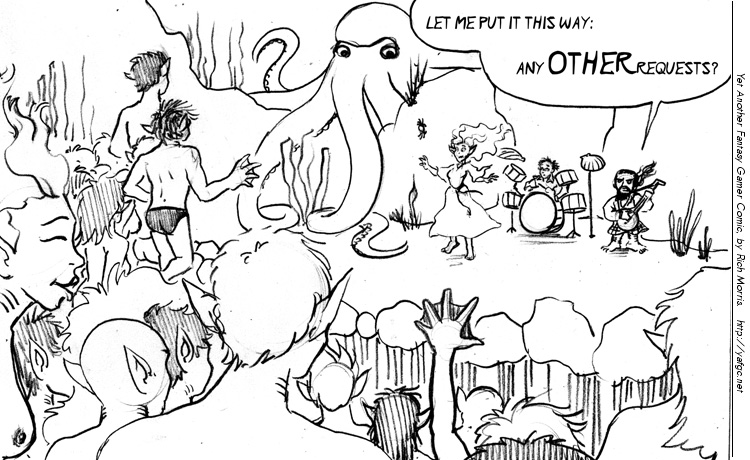 1951 Lawn Of The Cephalopod