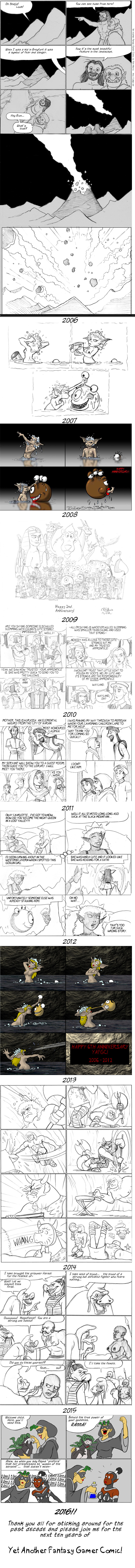 2914 Ten Years Of Yet Another Fantasy Gamer Comic