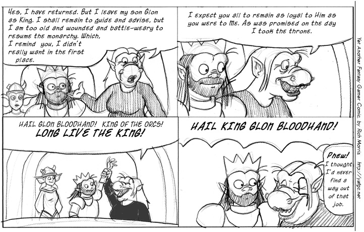Yet Another Fantasy Gamer Comic | Your everyday, black and white