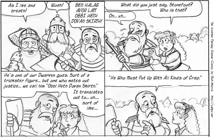 3378 Dwarf Theology