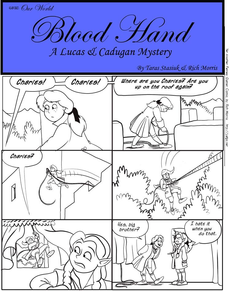 3432 Blood Hand A Lucas And Cadugan Mystery